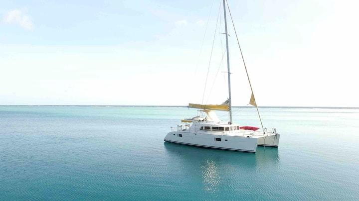 Croisière Catamaran à voile en Polynésie