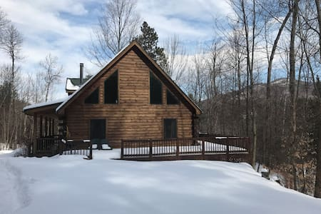 Silver Bear Cabin, 15 minutes from Whiteface! - Keene - 獨棟
