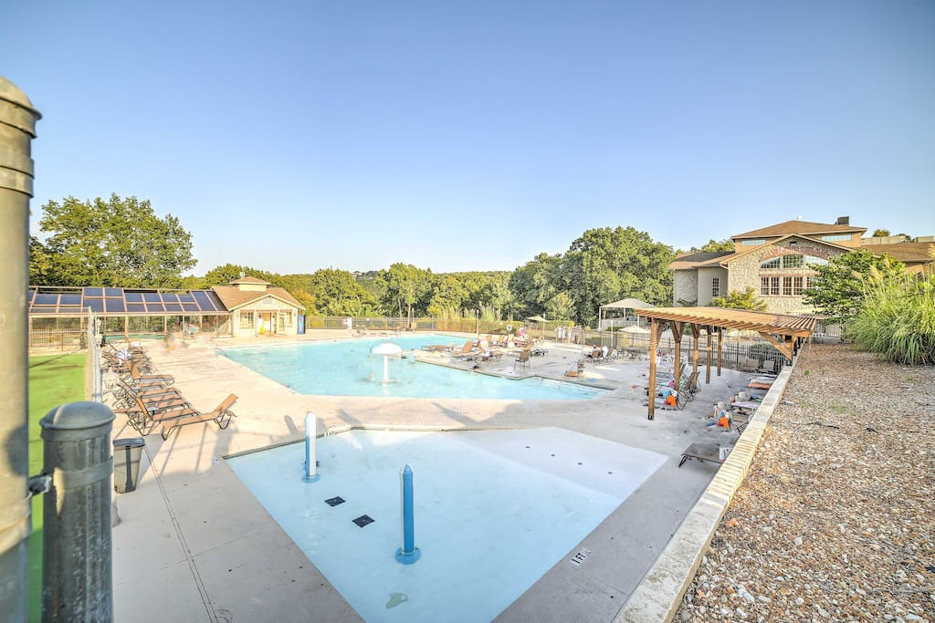 Look forward to many perfect pool days by the resort's outdoor pool!