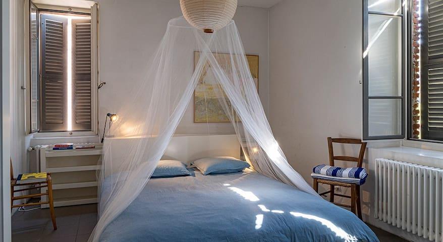 Casa Unione bedroom 1 on ground floor