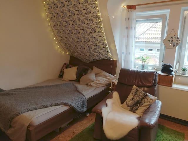 cozy place in South/gemütliche Wohnung in Süd 20qm