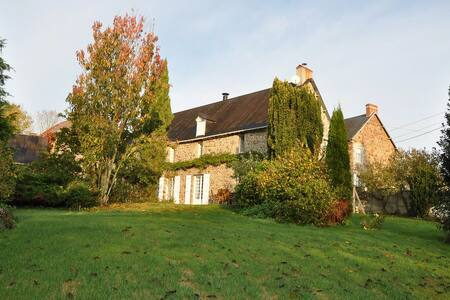 Wonderful characteristic house in Normandy - Montpinchon - Hus