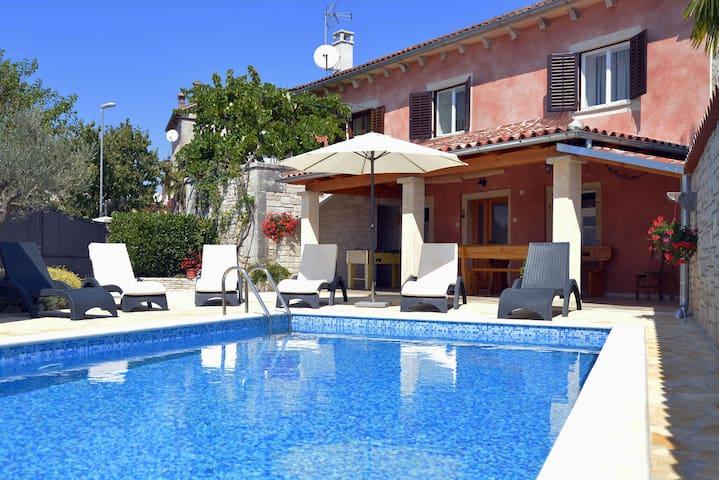 Casa Bepi with private pool near Rovinj