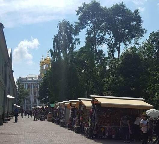Apartments at the Catherine Palace (Пушкин центр)