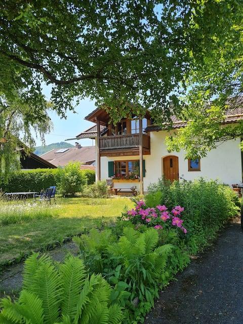 Ferienwohnung mit Bergblick nähe Kochelsee