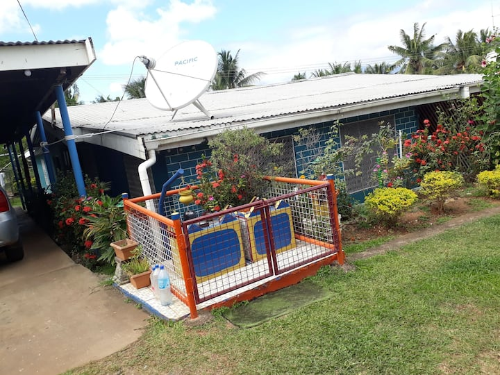 Centrally located house in Nadi.