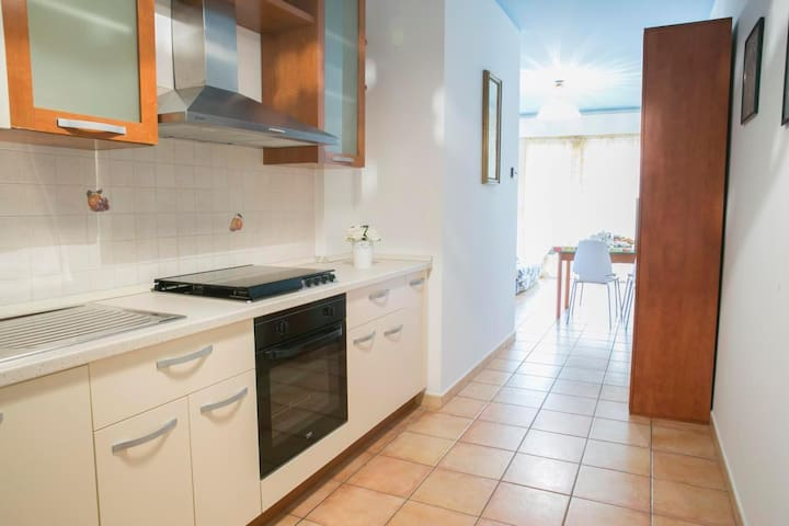 Holiday apartment just 250 meters from the beach