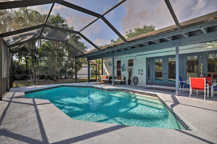 Miami Home w/ Screened-in Pool Mins from Zoo!