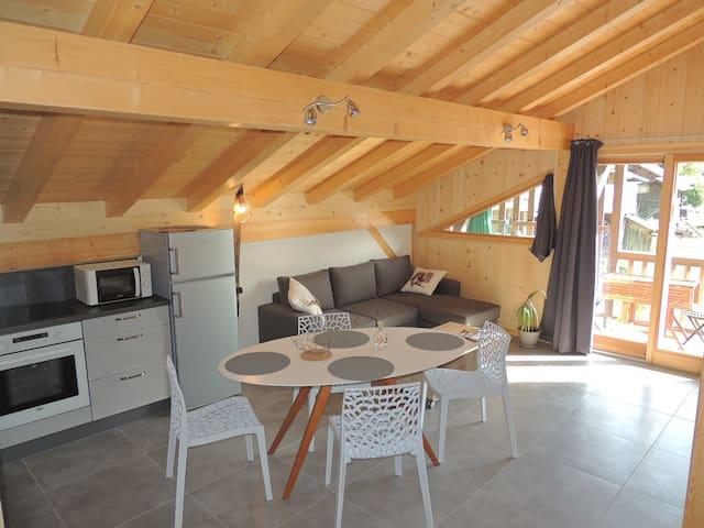 Duplex dans charmant hameau de Samoëns