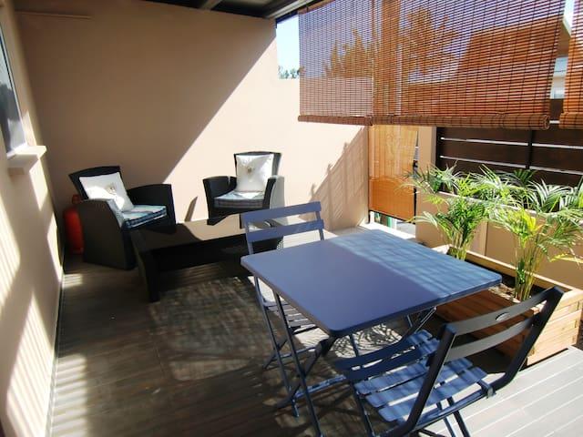 T2 terrasse dans villa dix minutes plages - Ravine des Cabris - Apartment