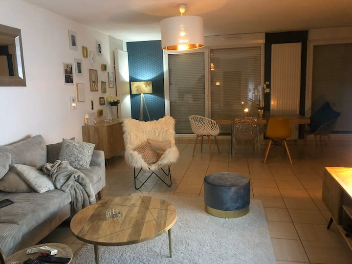 Private room near Basel airport in France St Louis