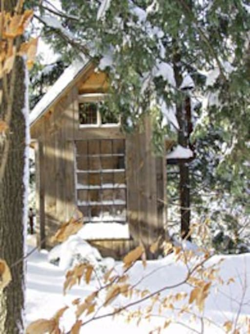 Take a sauna and go roll in the snow. You know you've always wanted to!