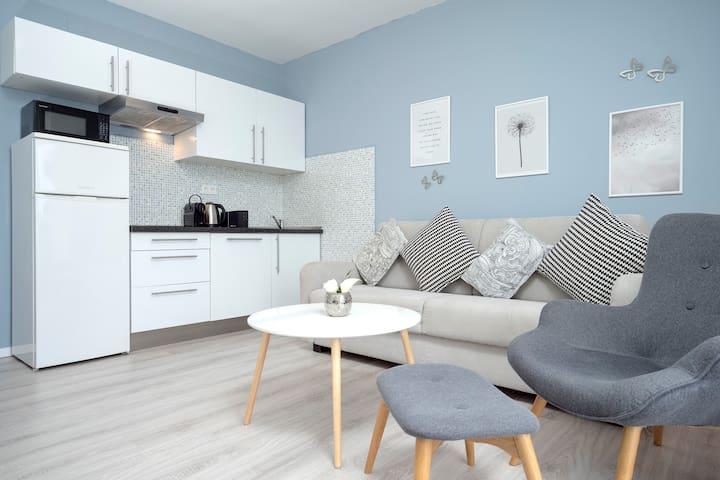 Sunny living room...