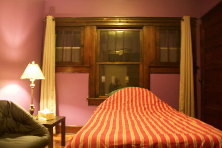 Private Room Two Minutes from Mass Ave - Indianapolis - Daire