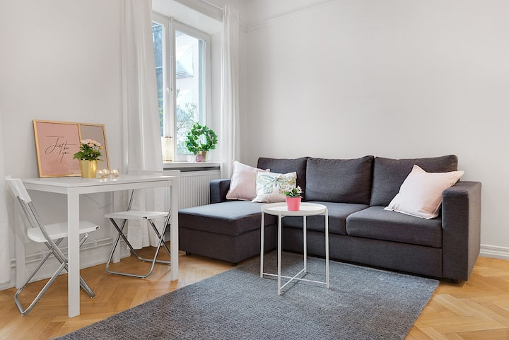 cozy apartment in södermalm
