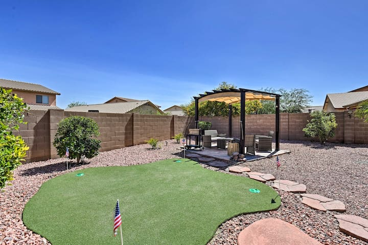 Tolleson Home w/ Retractable Sunsetter Awning