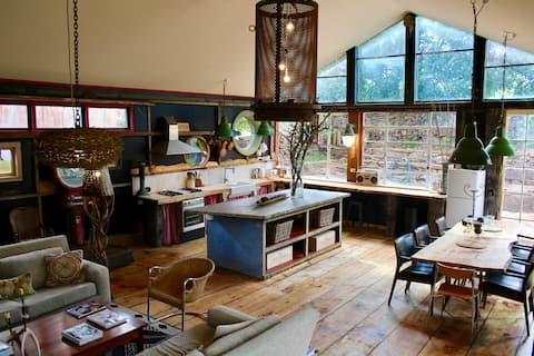Cedar Rise Farm 'Hanging Rock House'