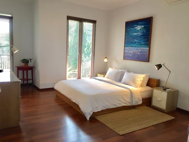 Master Bed Room, on The Second Floor