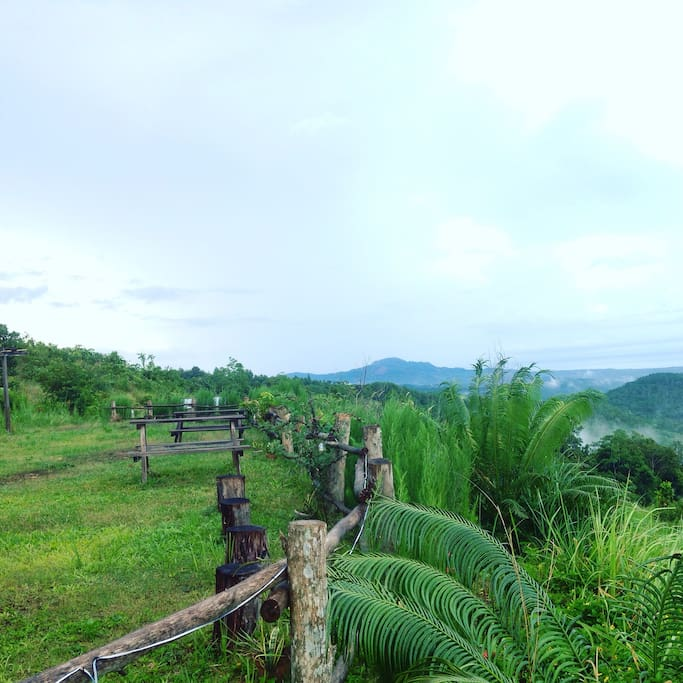 Hills view from the resorts