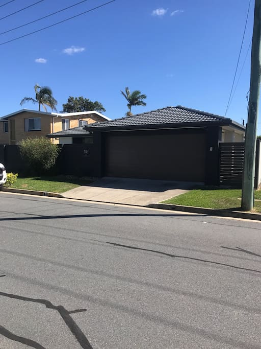 Easy street access, with 1 car space in garage