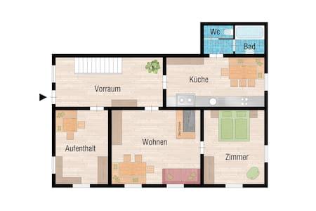 Holzhaus im Alpinen Bregenzerwald 9 Betten - Mellau - Dom