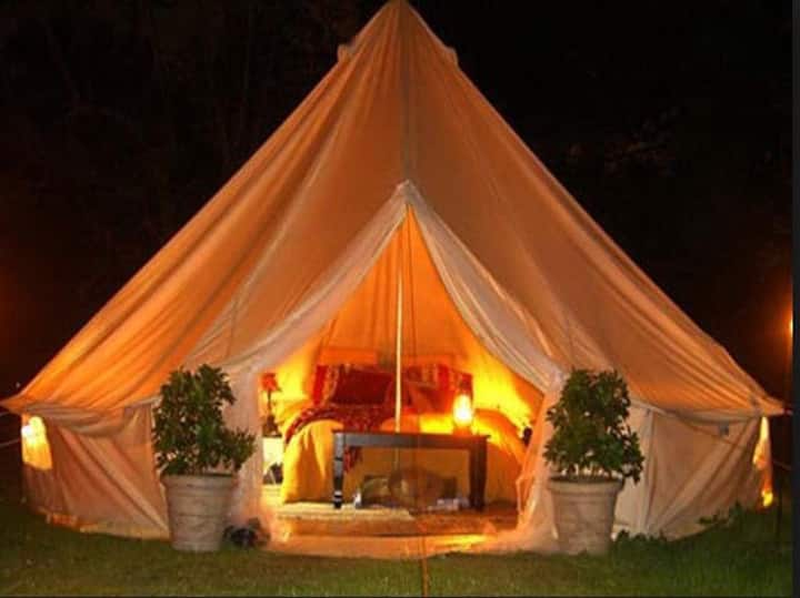 glamping relax