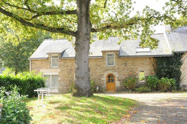 Grand gîte familial, en campagne, Morbihan