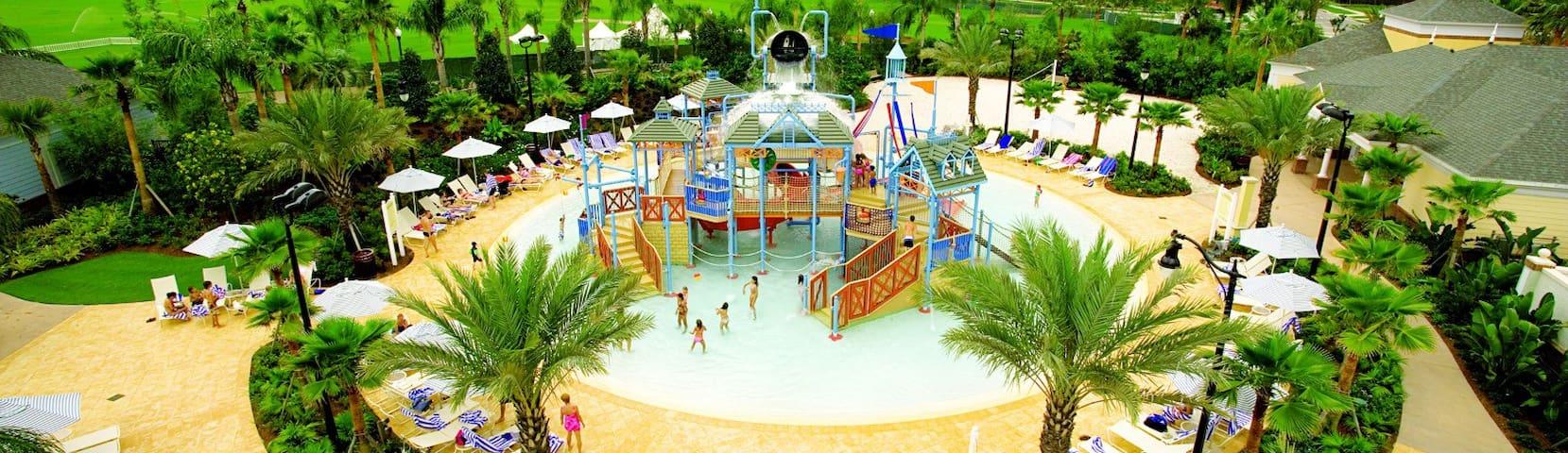 Orlando 3 Bdrm/3 Bath, Luxury Resort w/ Waterpark