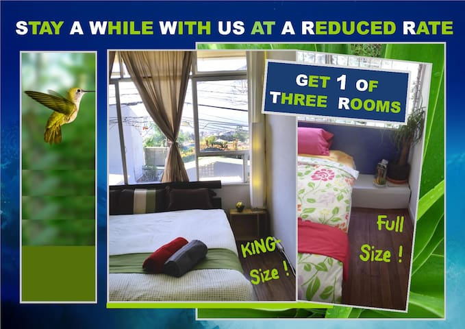 4+ Day Budget Special 15 min to Downtown or UCR - San José - Pis