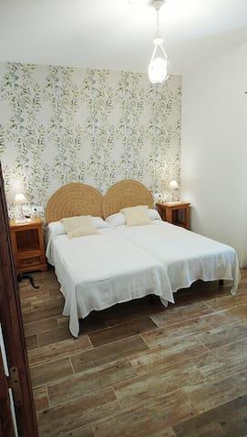 Dormitorio, dos camas