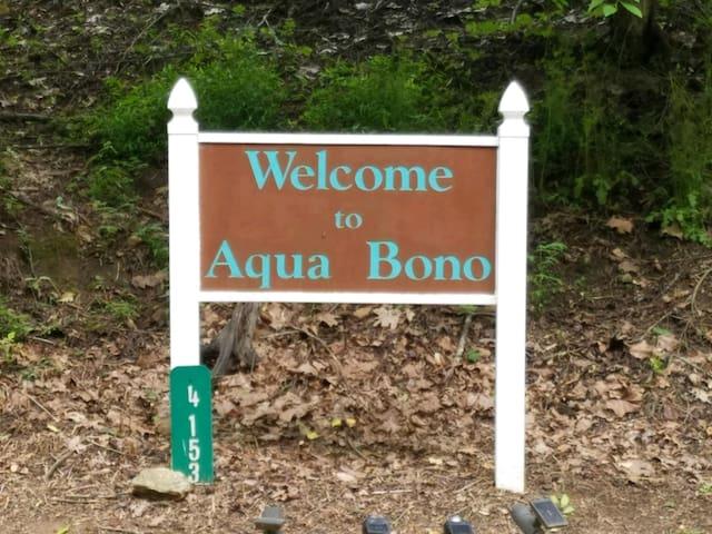 """Aqua Bono """"Good Water"""""""