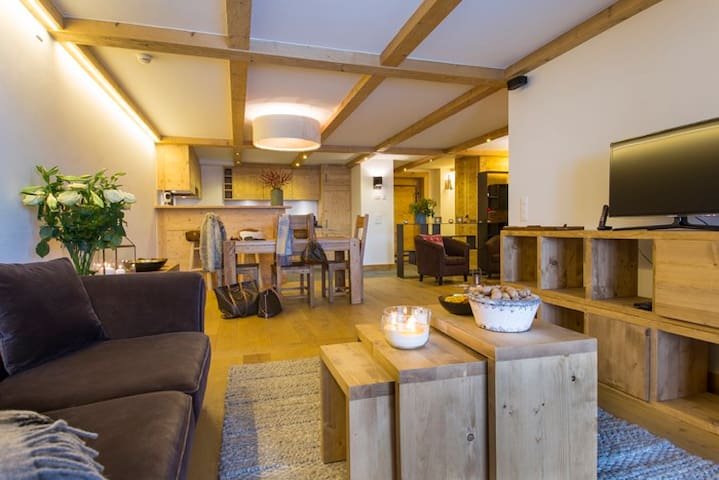 Elegant apartment, centre of Verbier - Bagnes - อพาร์ทเมนท์