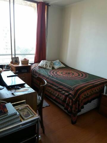 dormitorio en plaza ñuñoa