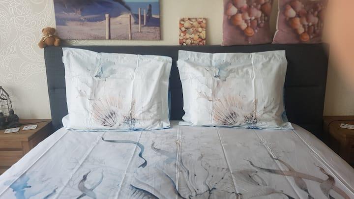 Zimmer mit meersicht Egmond aan zee.