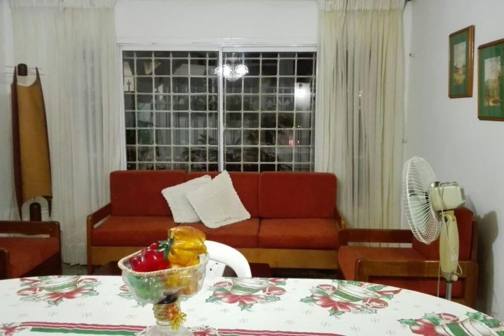 Social shared area - Living room & dinning Room