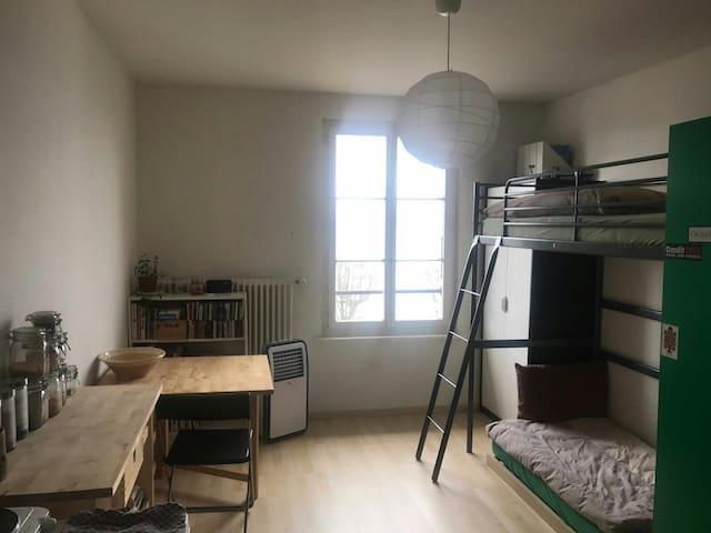 Chambre avec douche privée - Nyon - Andere