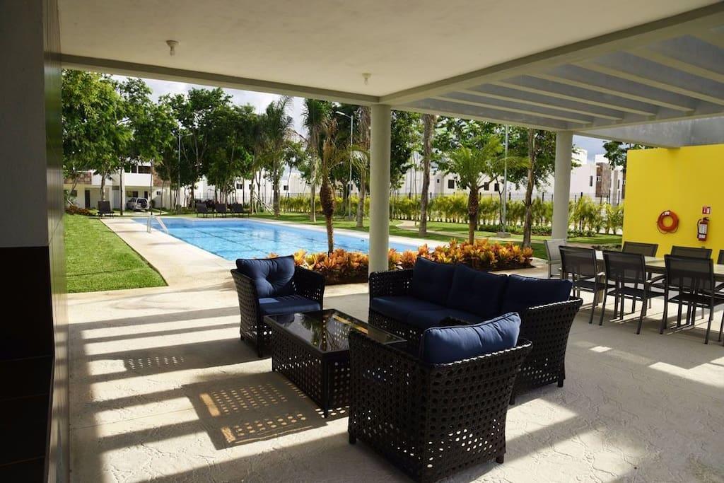 Área para relajarse / Relaxing area