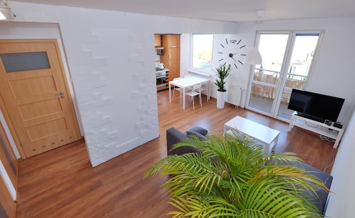Apartament Słoneczny 4 (faktura VAT) z parkingiem