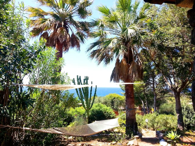 sea side family villa in the garden - Villasimius, Cagliari - Willa