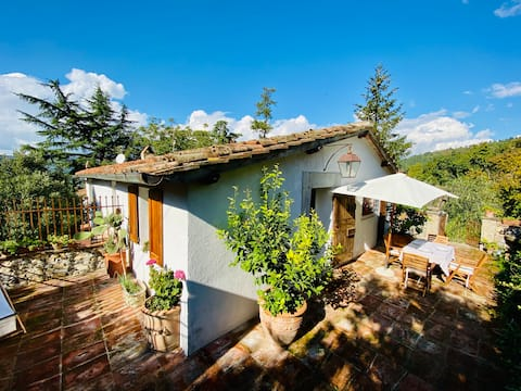 Cottage in Toscana in antica Villa con giardino