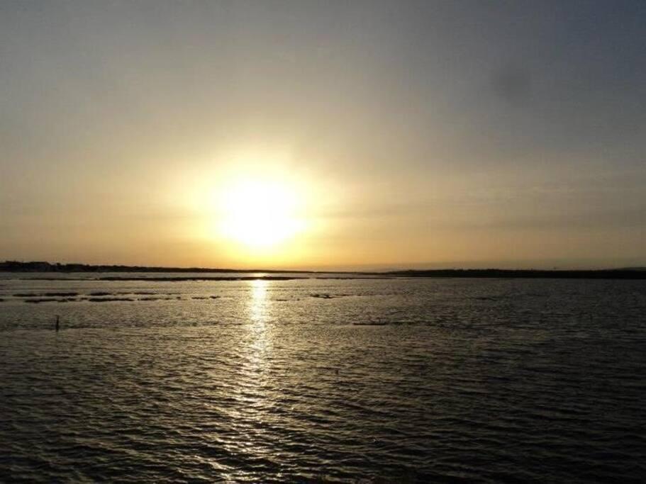 Praia de Faro Sunset