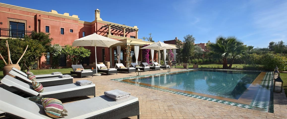 Villa EDEN ROUGE SUR GOLF byMPR - Marrakech - Apartment