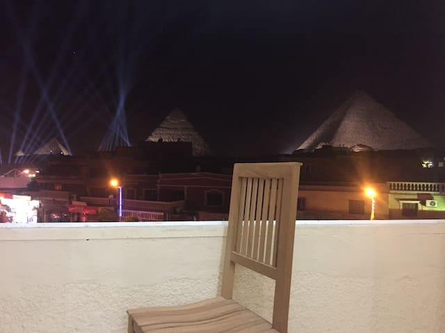 Cheops Pyramids View