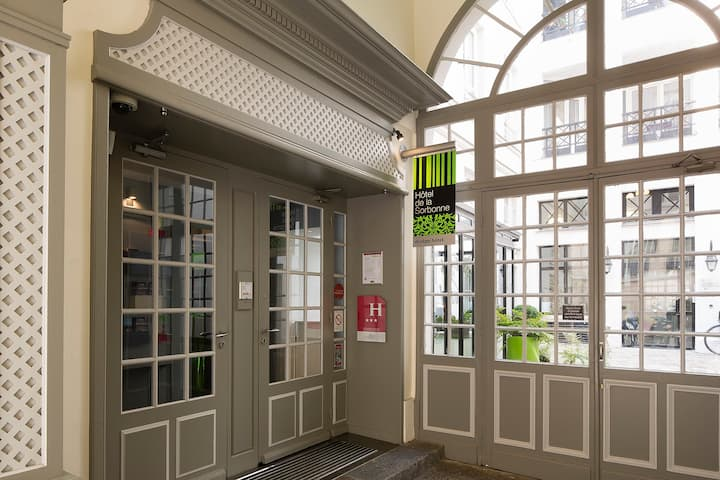 Bienvenue à L'Hotel Design Sorbonne