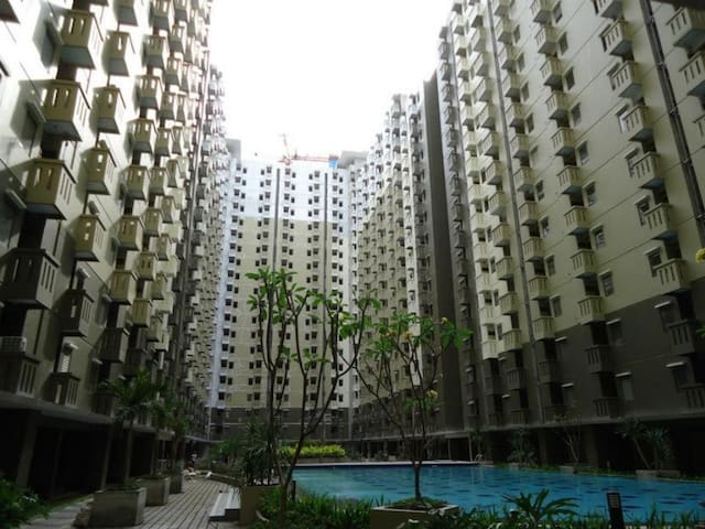 2BR Cozy Apartment with Pool, in Bandung - Bandung - Apartament