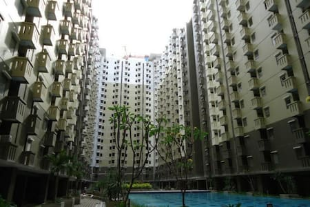 2BR Cozy Apartment with Pool, in Bandung - Bandung - Departamento