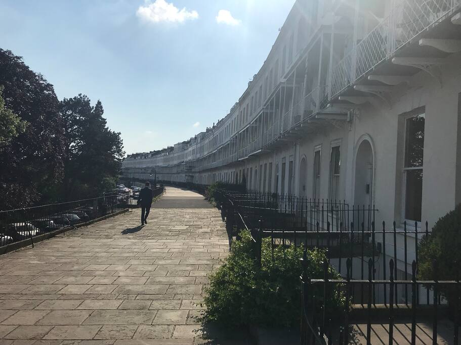Royal York is Bristol's most prestigious street.