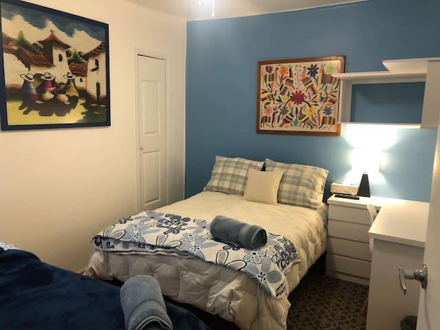 Condesa, habitación Azul departamento compartido