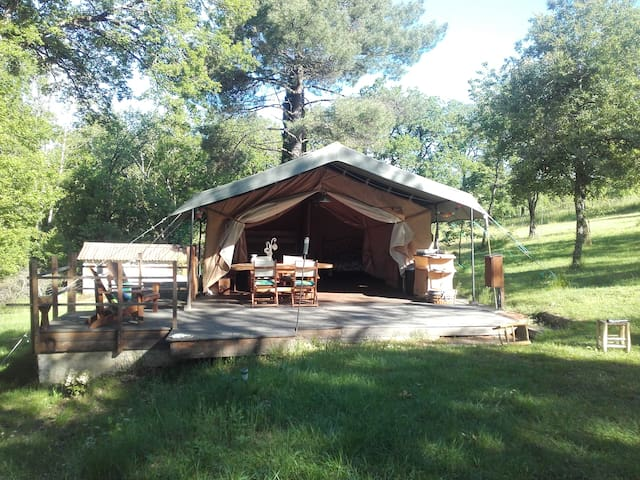 Tente safari ou Eco lodge - Pampelonne - Tent