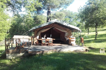 Tente safari ou Eco lodge - Pampelonne - Teltta